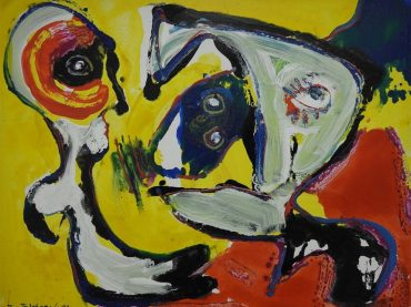 Jan te Wierik - Compositie met figuren