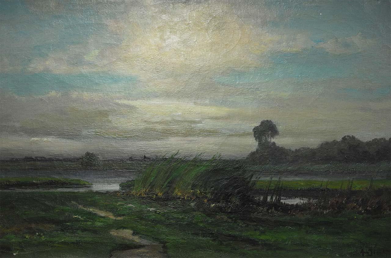 Andries van der Sloot - Fries landschap