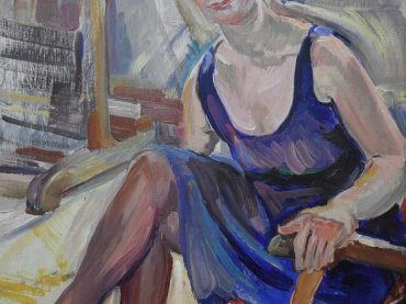 George Martens - portret Attie Tolsma