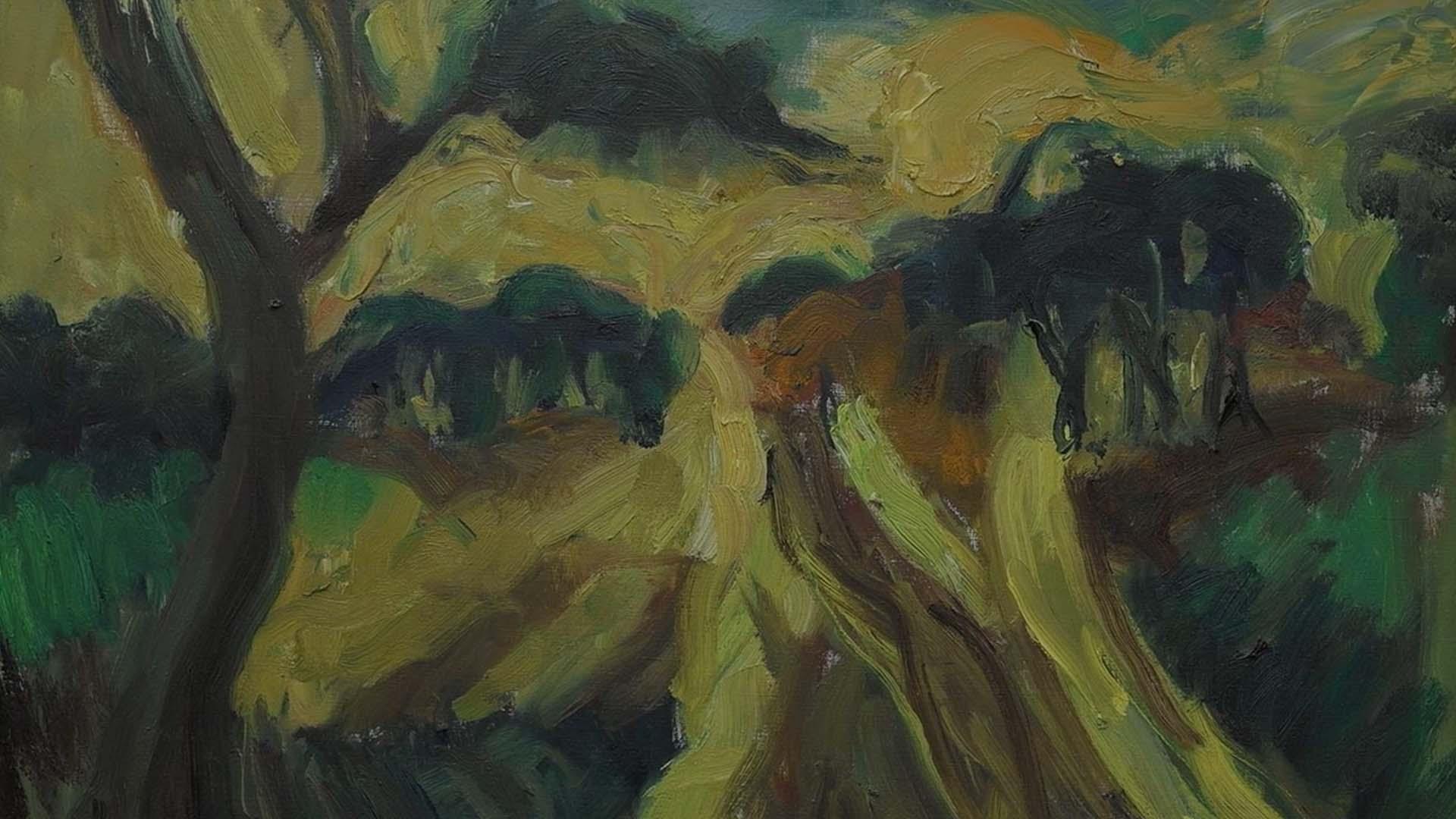 Piet van Wijngaerdt - Landschap