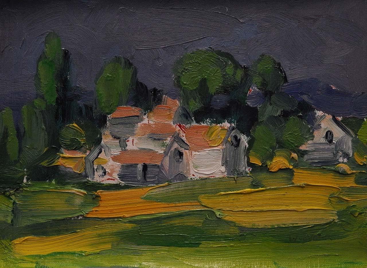 Wim van der Veer - Frans dorpje