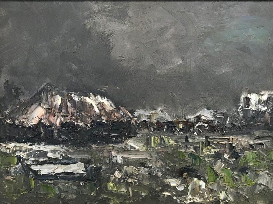 Jan Costerus - Landschap met boerderijen