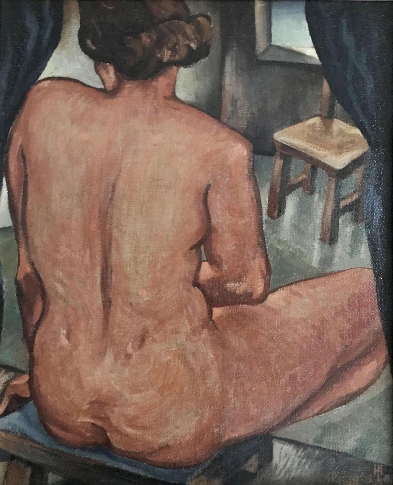 Huib Marie Luns - Vrouwelijk naakt