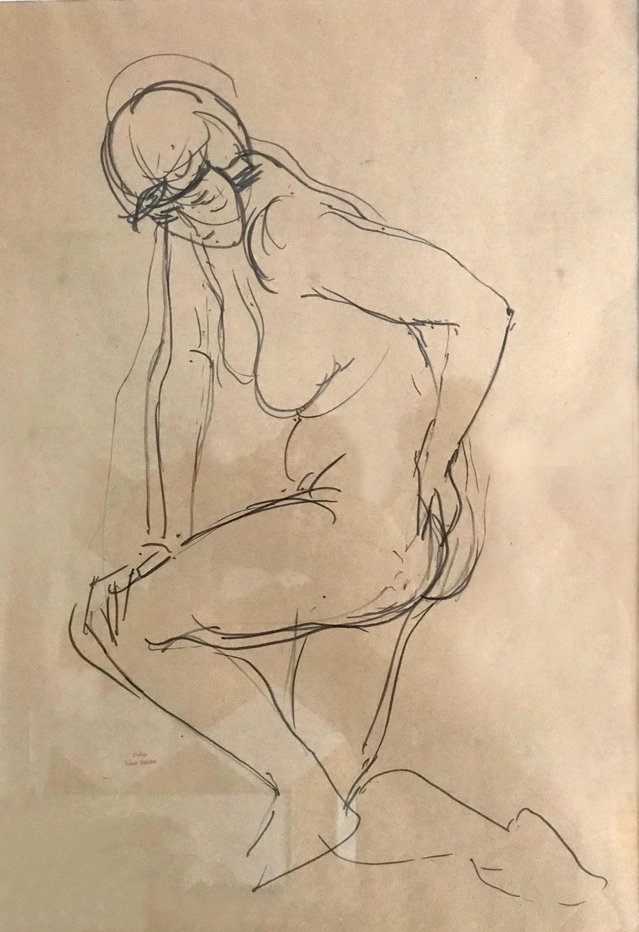 Johan Dijkstra - Vrouwelijk naakt
