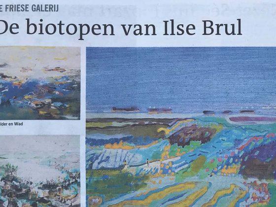 De biotopen van Ilse Brul, Leeuwarder Courant