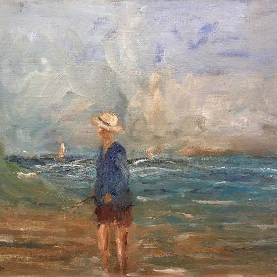 Albert Pinot - Aan het strand