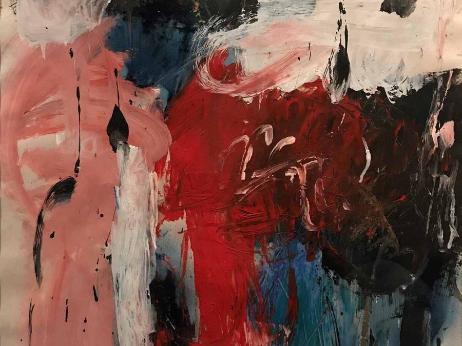 Gerriet Postma - Abstracte compositie
