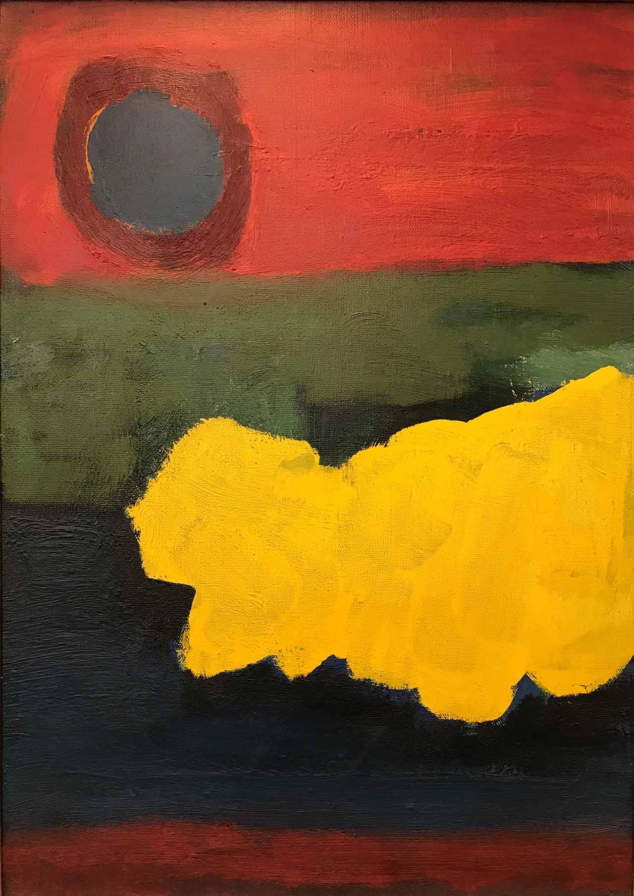 Gerrit Benner - Compositie met zon