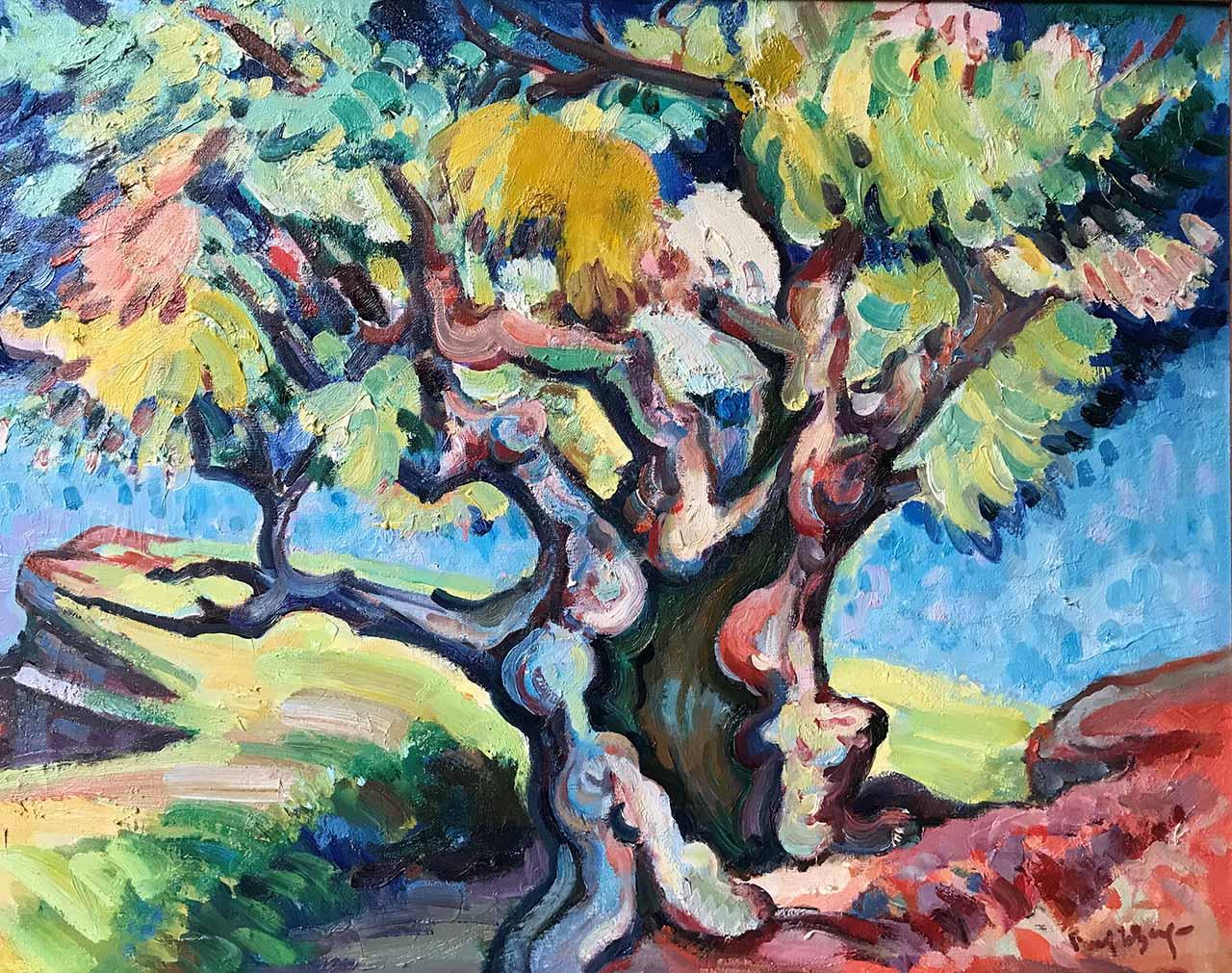 Freek van den Berg - Tree
